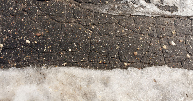 What Effect Can Ice Have on Your Asphalt Pavement?