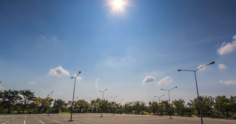 Preparing Your Business Parking Lot for the Texas Summer