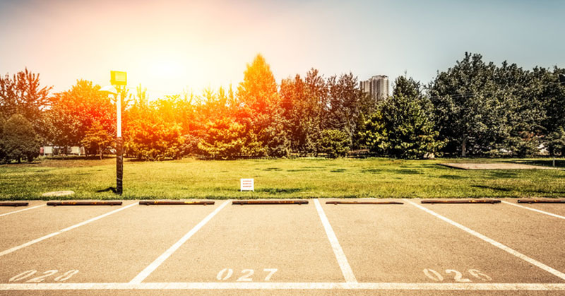 How to Protect Your Parking Lot from Sun Damage