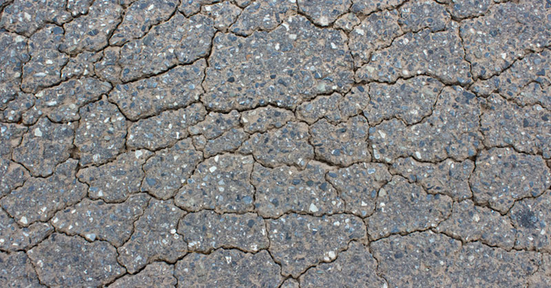 Alligator Cracks